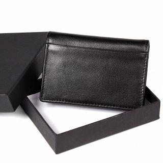 礼物手刺夹 真皮头层牛皮手刺夹卡片包 零钱包