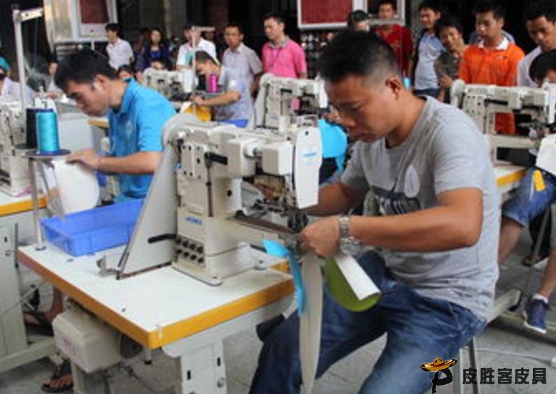 皮具加工厂如何更好的提拔企业竞争力